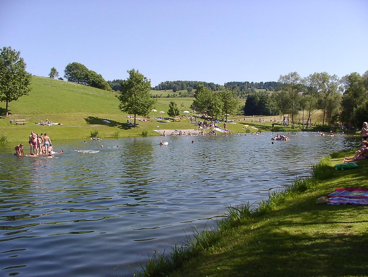 Baden Schwimmen im Bayerischen Wald