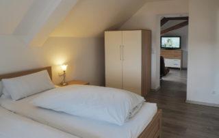 Doppelzimmer im Bayerischen Wald